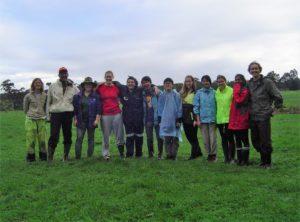 International tree planting group Rosa Brook