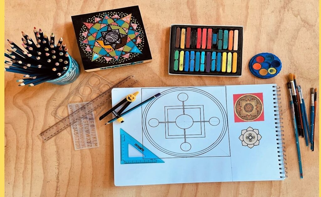 Mandala art & mindfulness Workshop